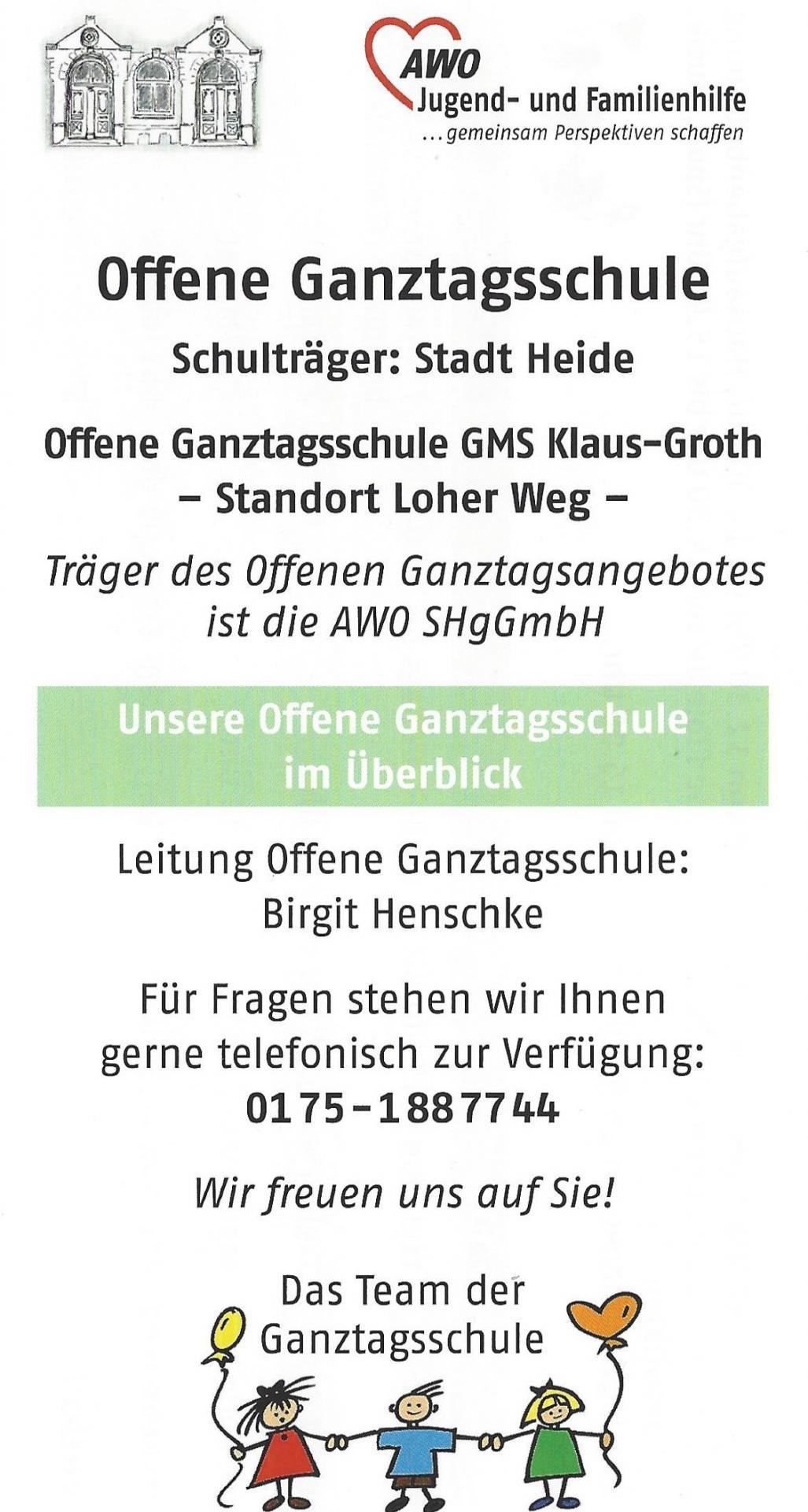 OGT-Flyer Vorderseite