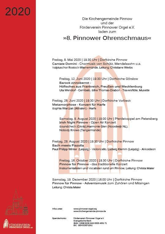 Pinnower Ohrenschmaus 2020