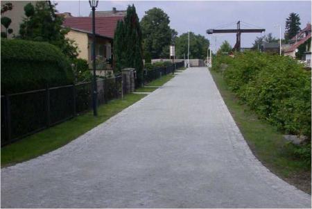 Straße am Kanal