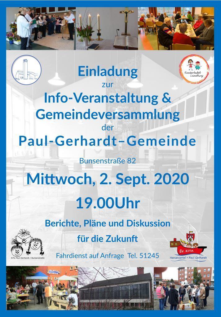 Gemeindeversammlung 2.9.2020