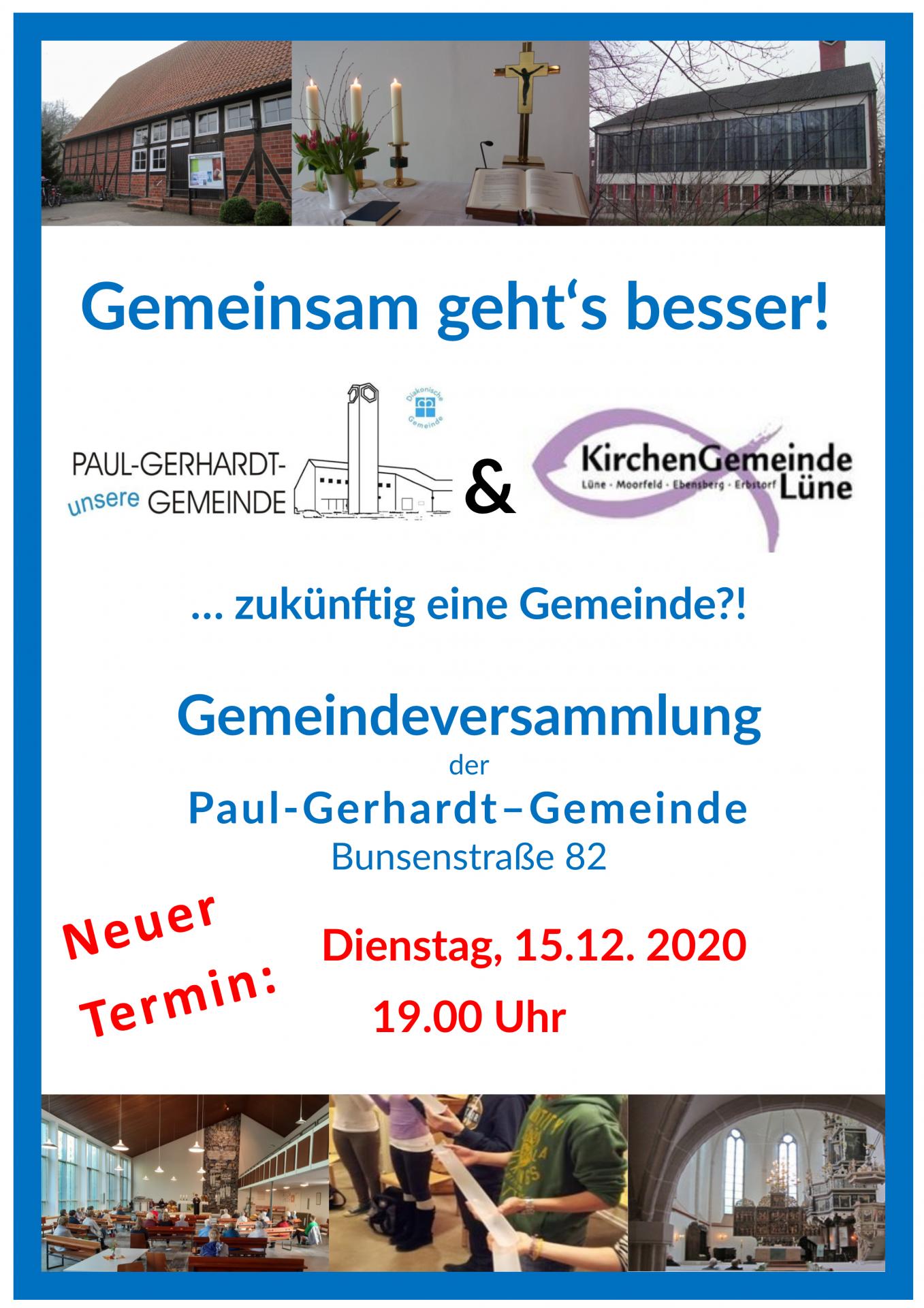 Gemeindeversammlung 15.12.