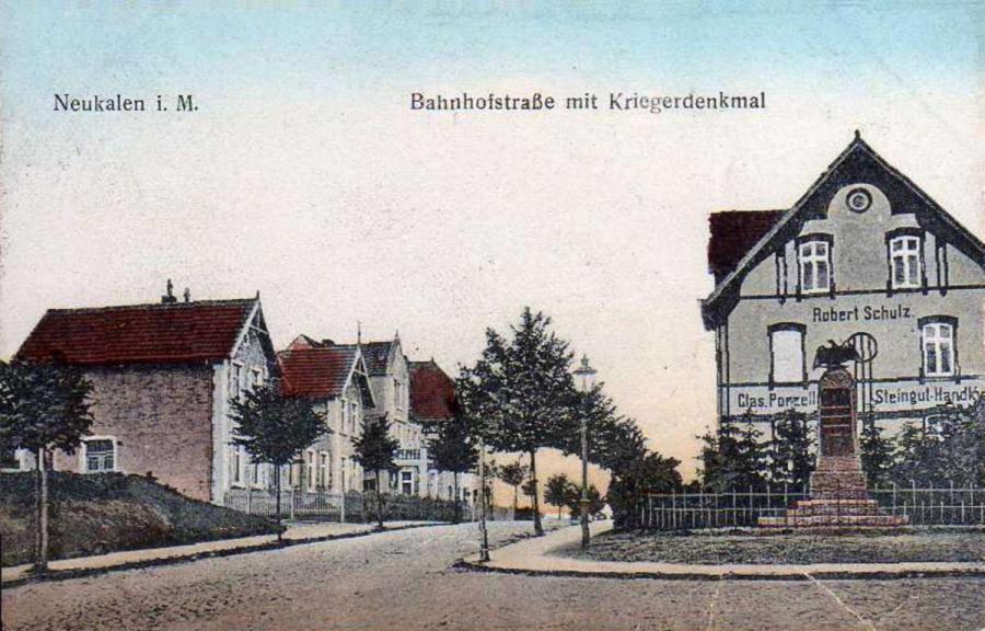 Ansichtskarte von 1912