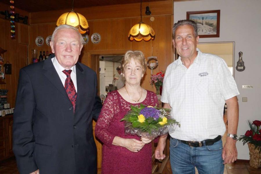 Am 18. August 2017 feierten Edda und Peter Rathfisch Goldene Hochzeit