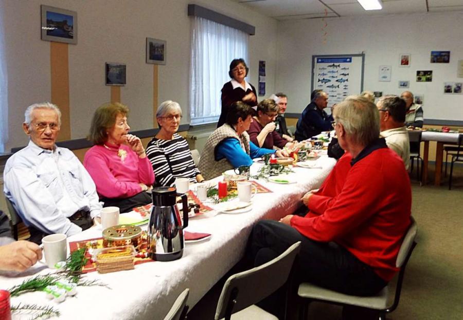 Weihnachtsfeier am 8. Dezember im Anglerheim (1)
