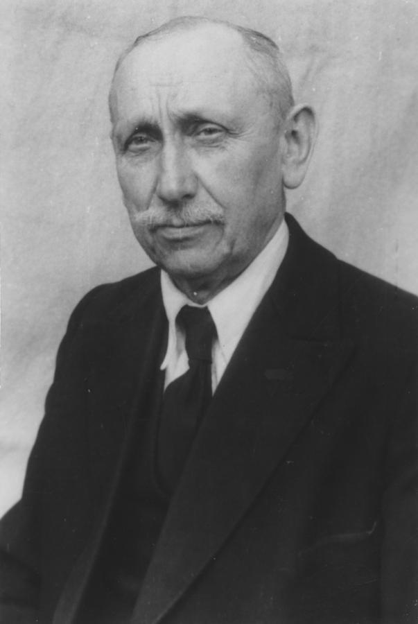 Töpfermeister Robert Schulz