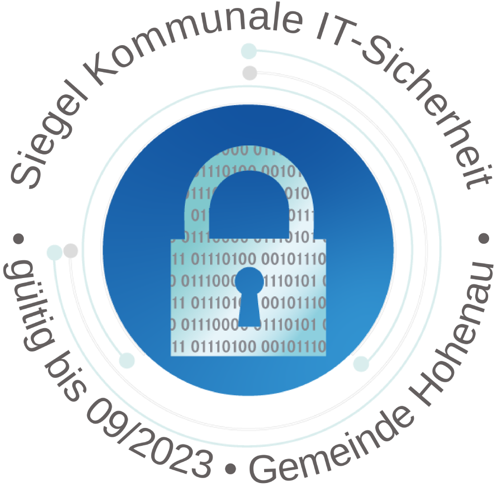 SiegelKommunaleIT-Sicherheit_Gemeinde Hohenau01