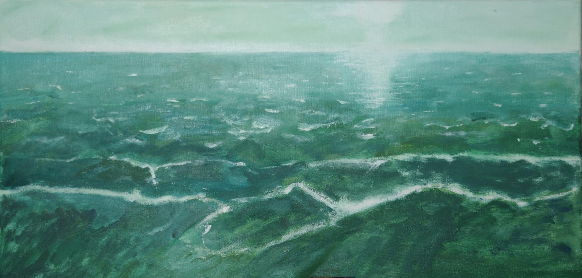 Wasserbild grün