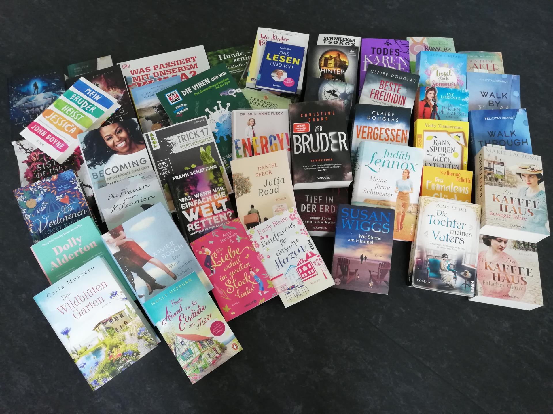 Bücher-Spende Flughafen 2