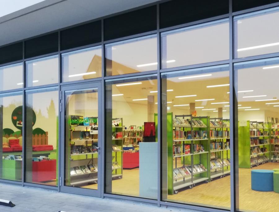 Bücherei Fenster