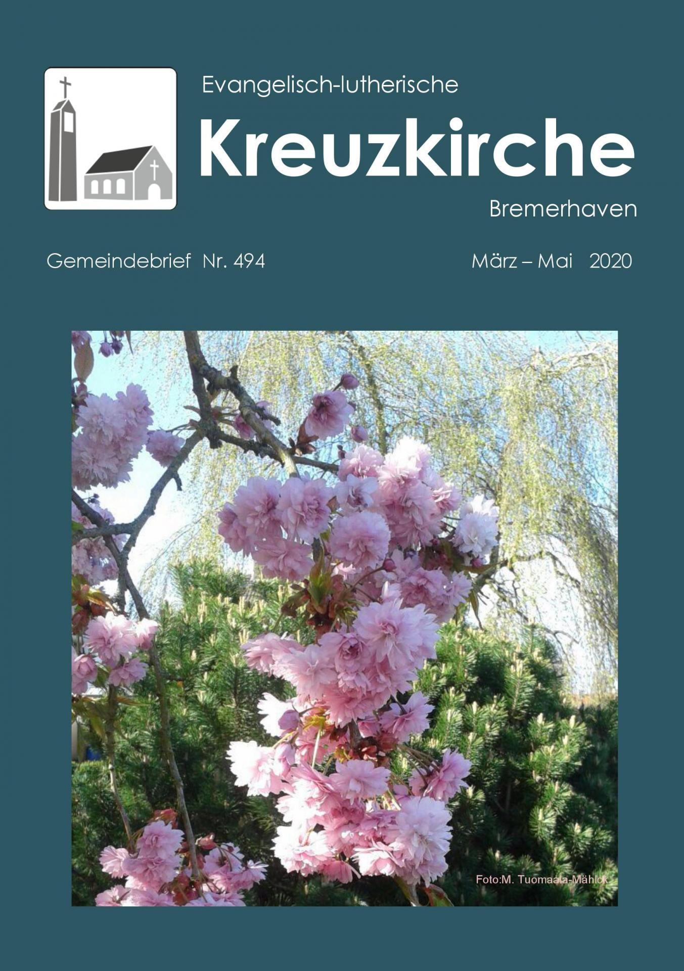 GB 494 Frühling Titel