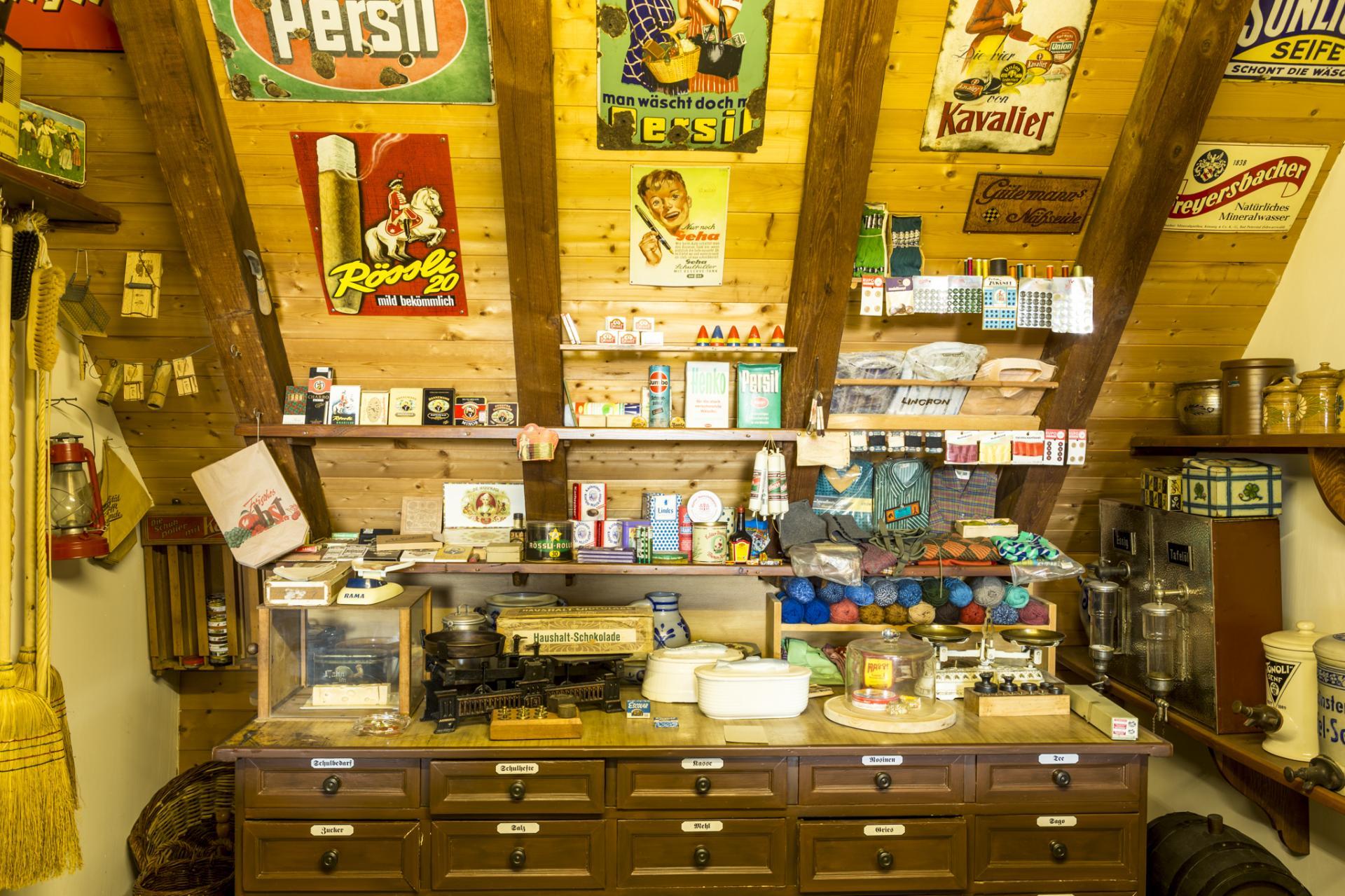 Heimatmuseum - Einkaufsladen