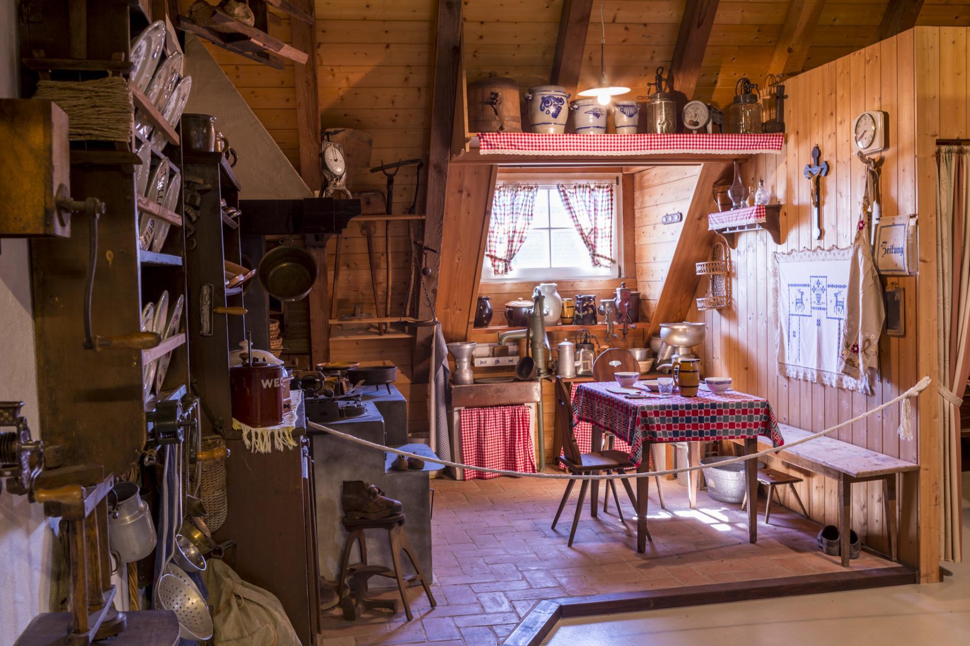 Heimatmuseum - Küche