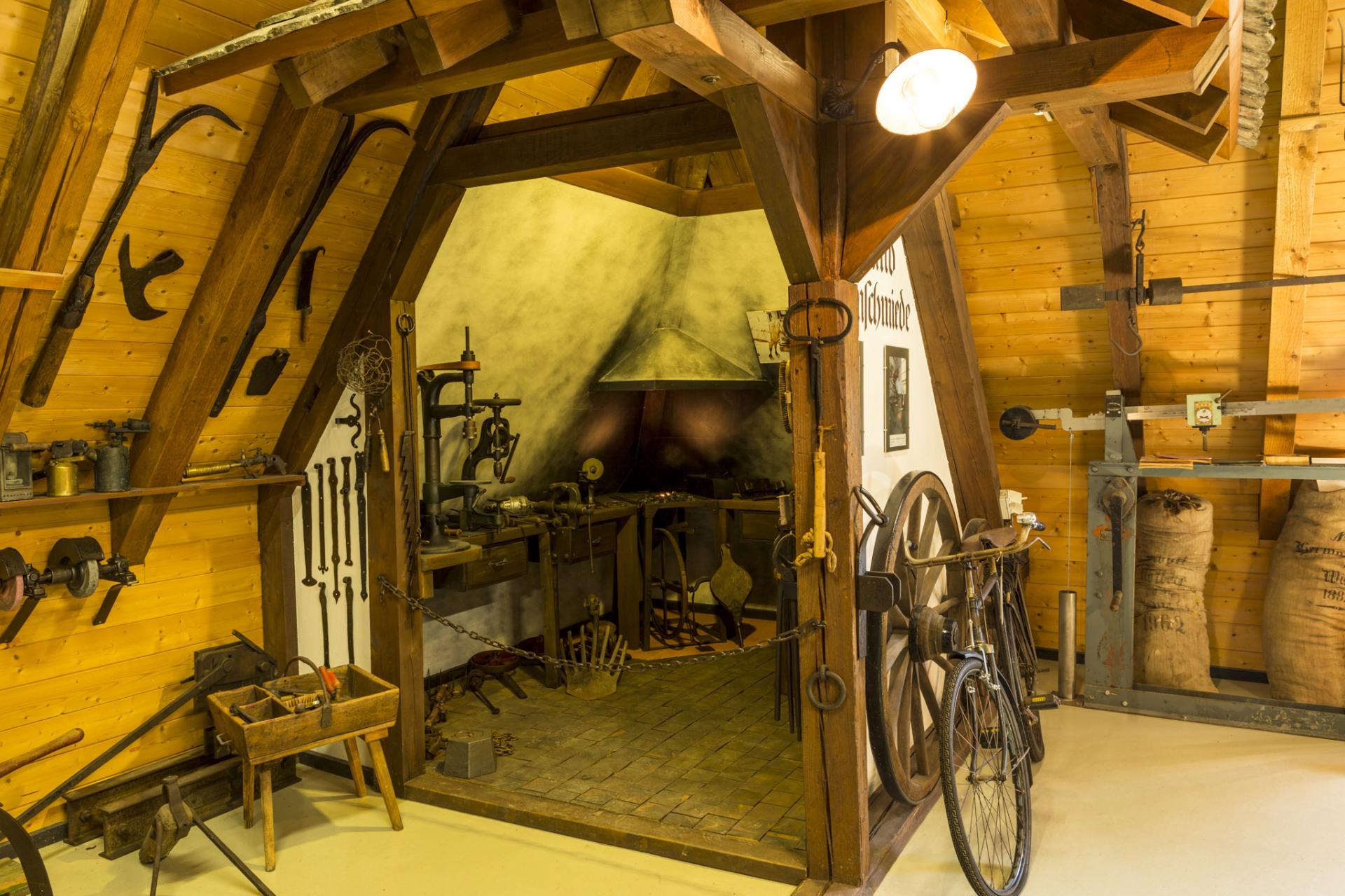 Heimatmuseum - Schmiede