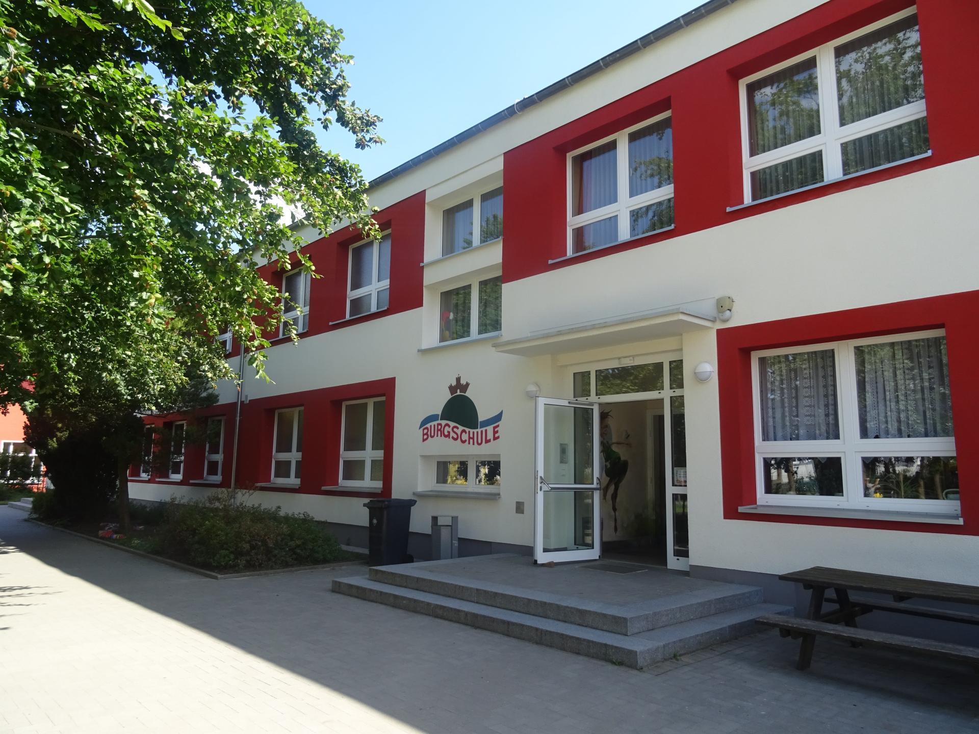 Burgschule  Foto: Info Punkt Lebus