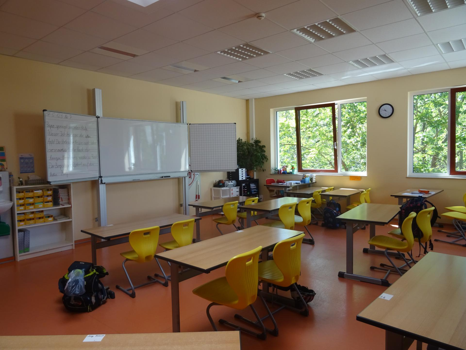 Klassenzimmer Foto: Info Punkt Lebus