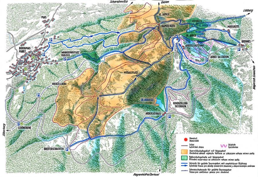 Schutzgebiet Großer Arber Ansicht 3