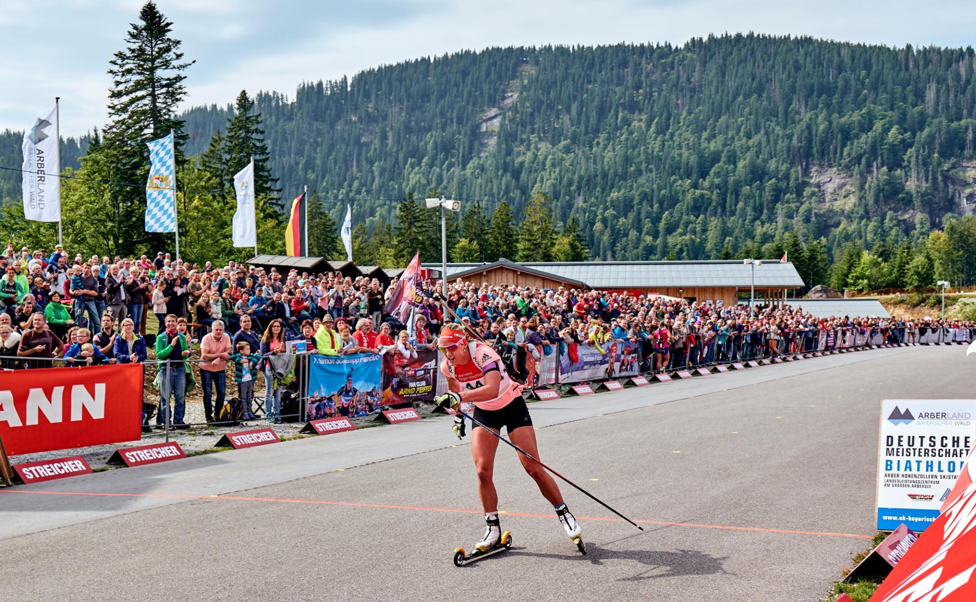Deutsche Meisterschaft Biathlon in Bayerisch Eisenstein