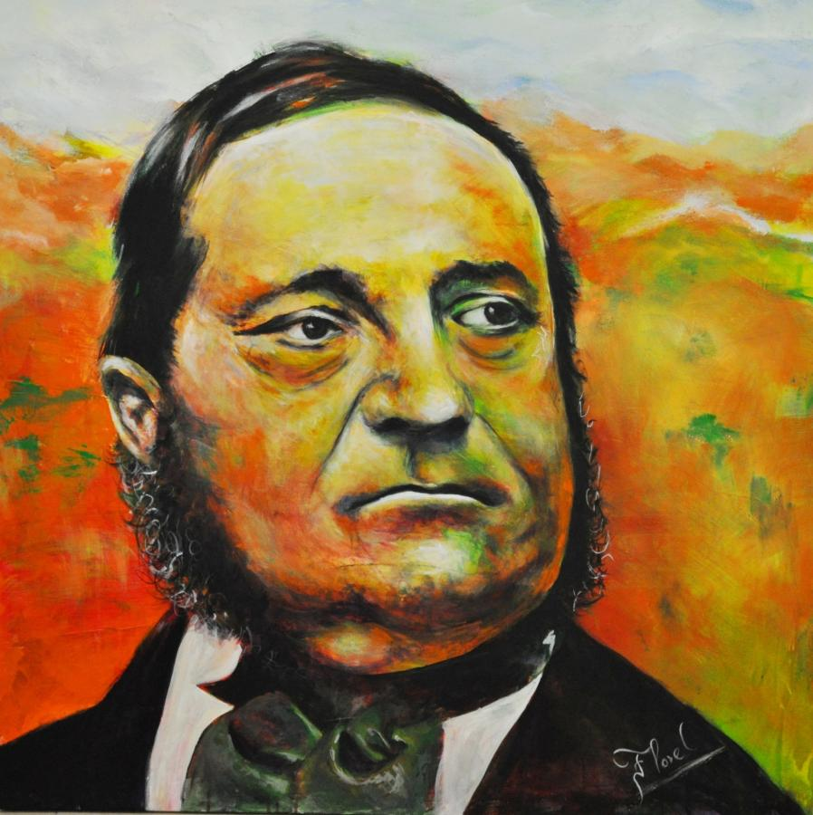 Portrait Adalbert Stifter- Lenka Floreova