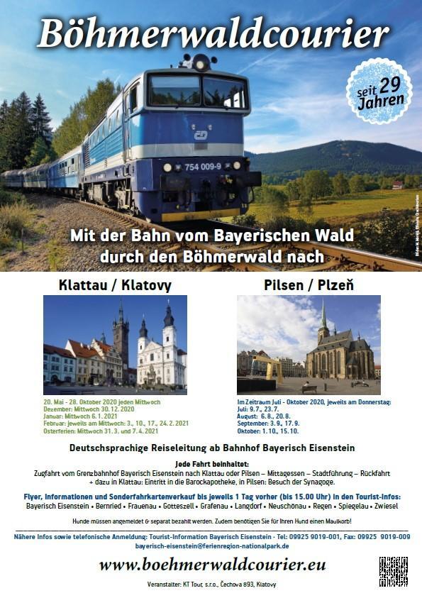 Plakat BöhmerwaldCourier Saison 2020- 2021