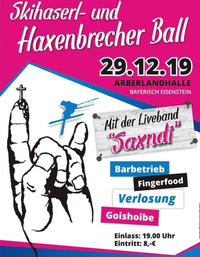 Plakat Haxenbrecherball 2019