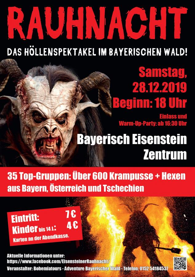 Eisensteiner Rauhnacht Plakat 2019