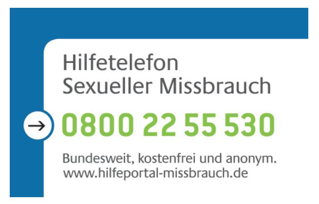 missbrauch telefon