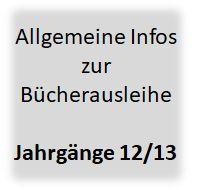 allgemeine Infos Bücher 12-13