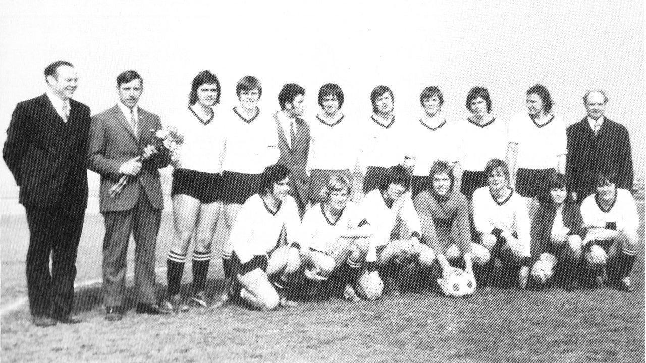 A-Jugend Kreismeister der Saison 1971/72