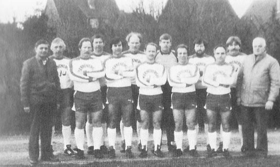 Altherren-Mannschaft aus Lieck