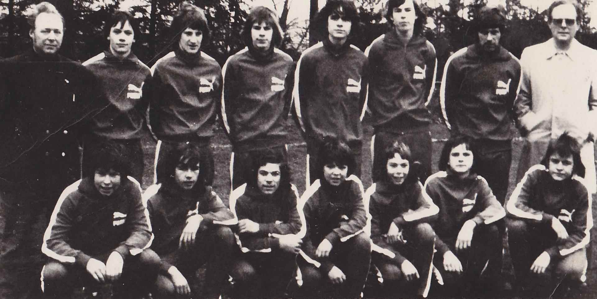 Einzige Verbandsliga Mannschaft des Vereins