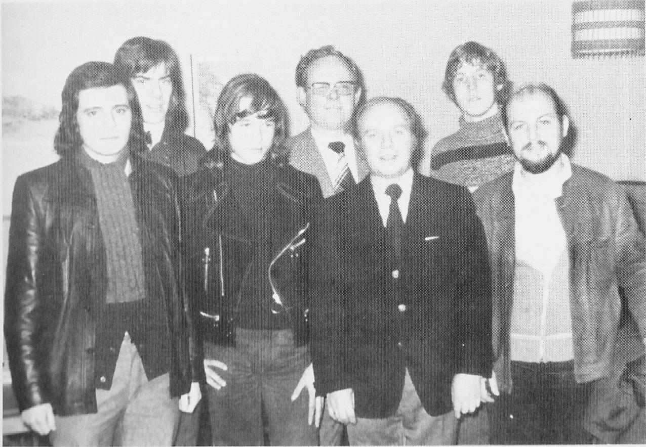erste Jugendvorstand 1974