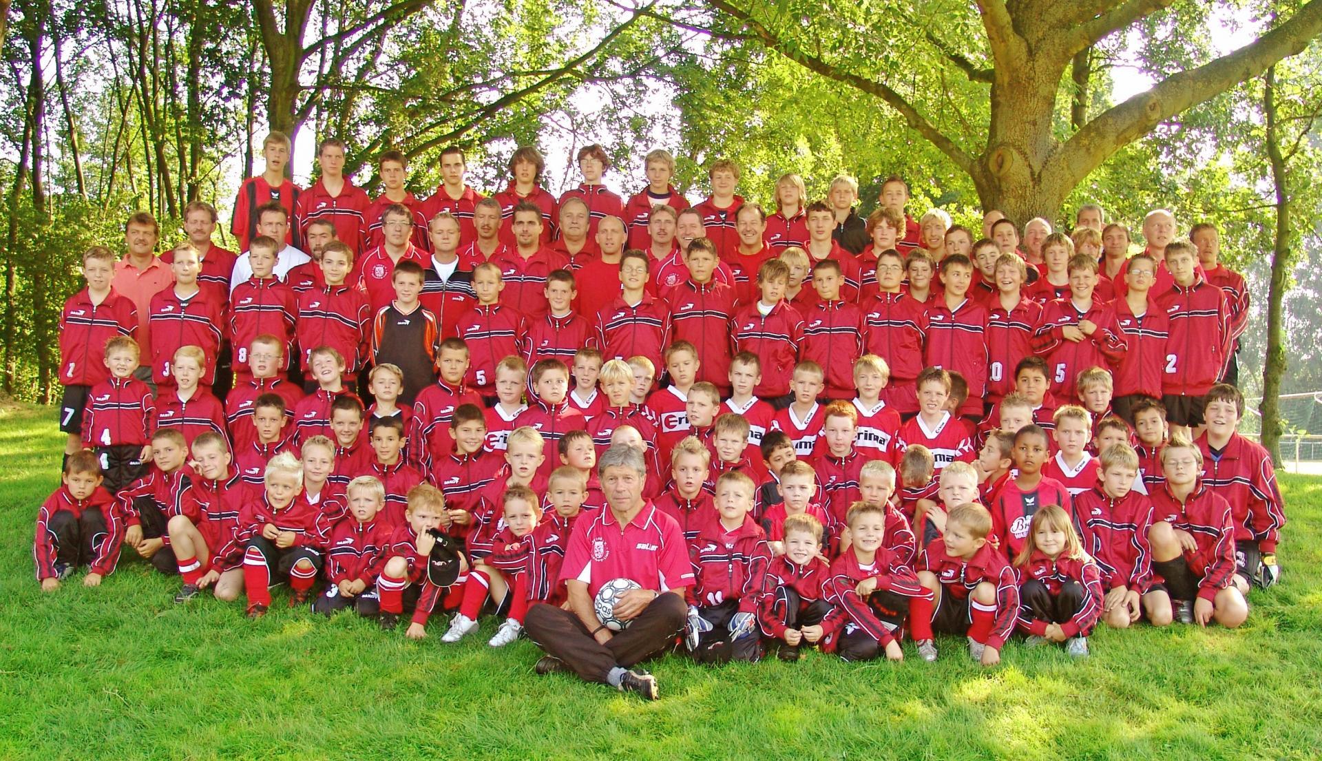 gesamte Jugendabteilung 2005