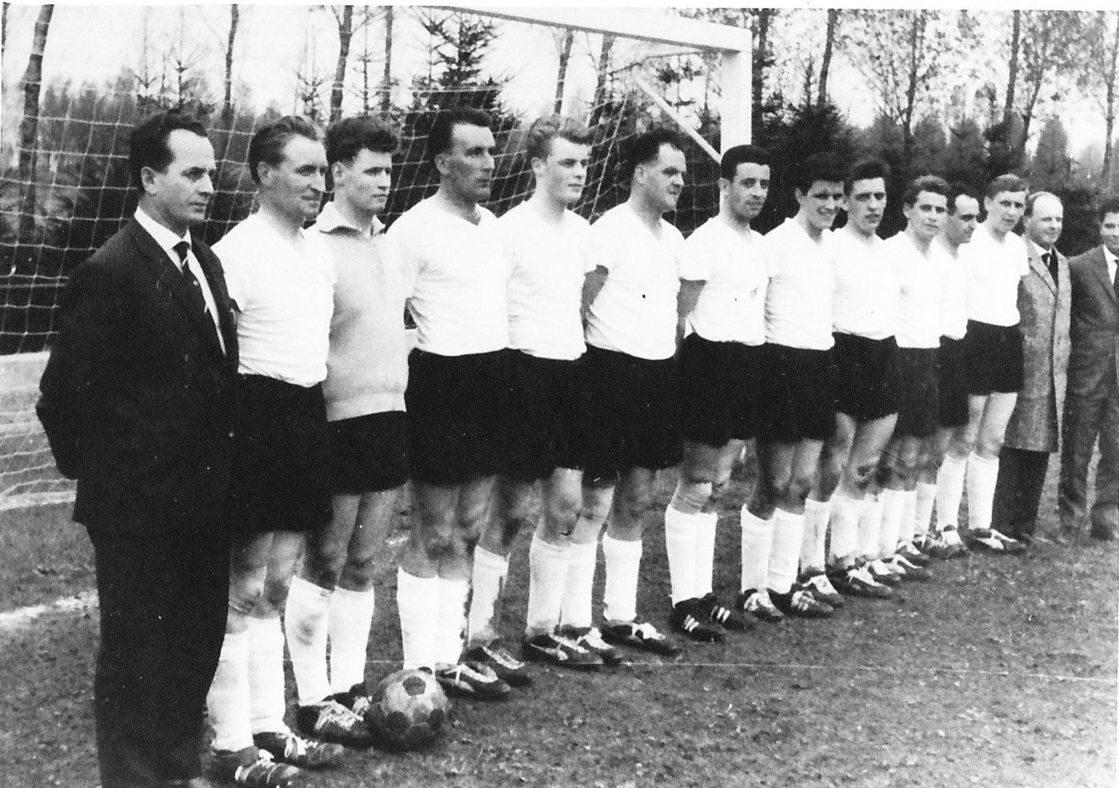 Kreismeistermannschaft der Saison 1962/63