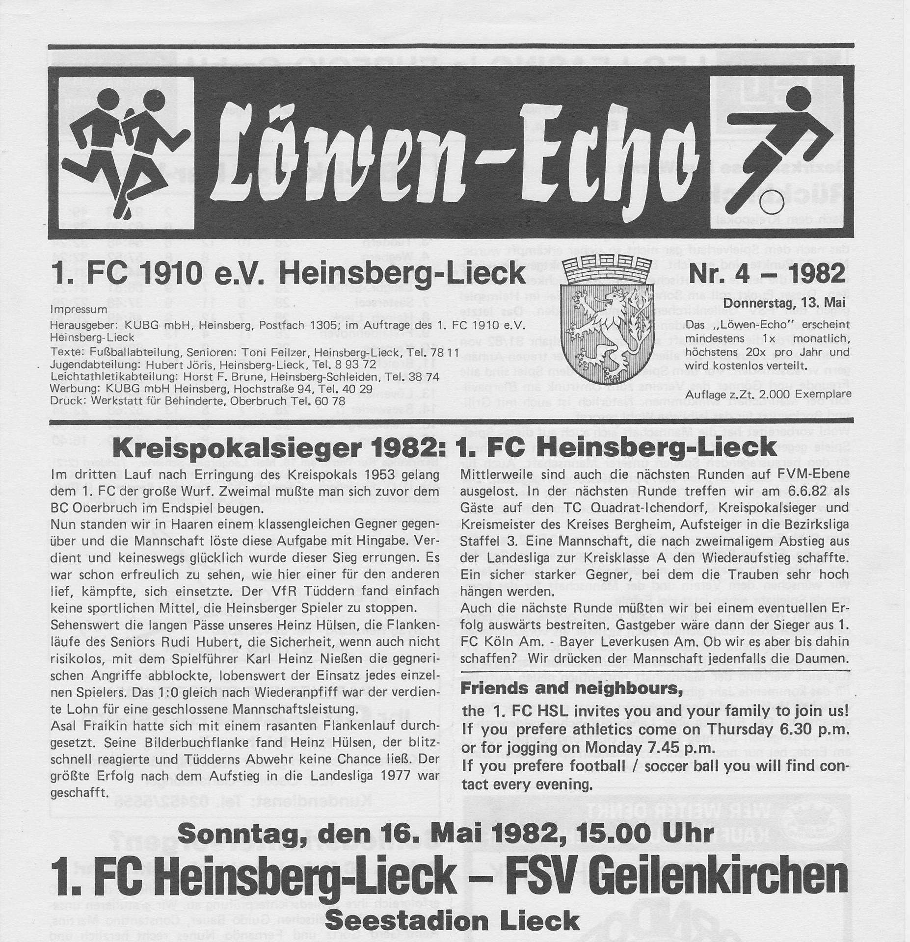 Löwen-Echo