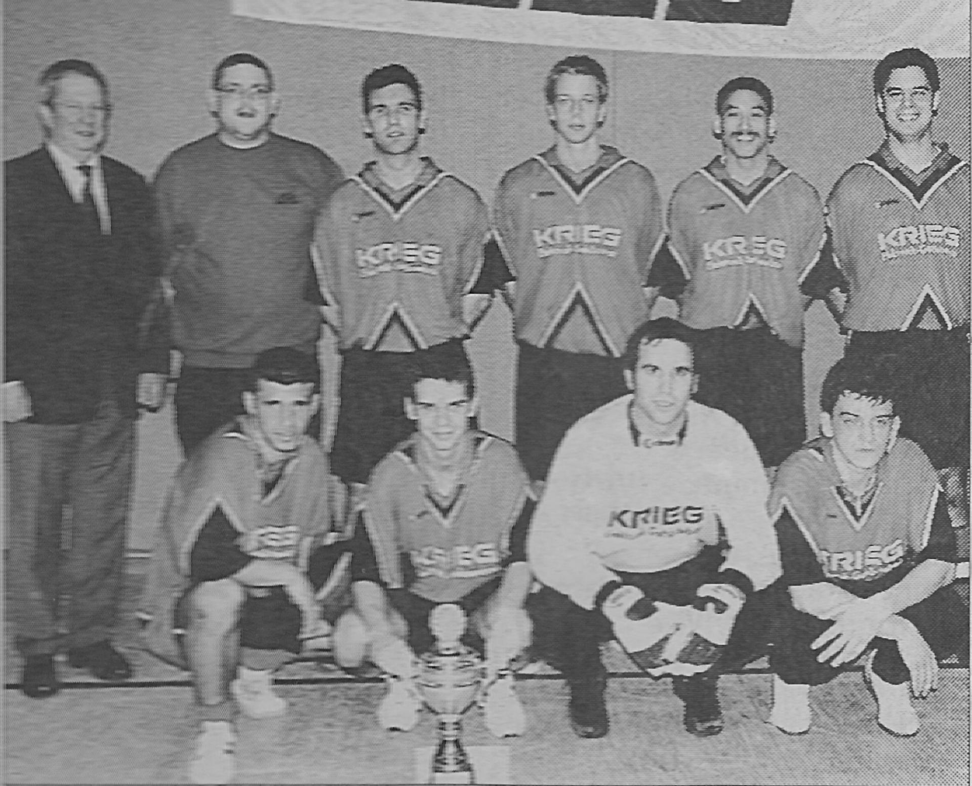 Stadtmeister des Jahres 2001: 1. FC. Heinsberg-Lieck
