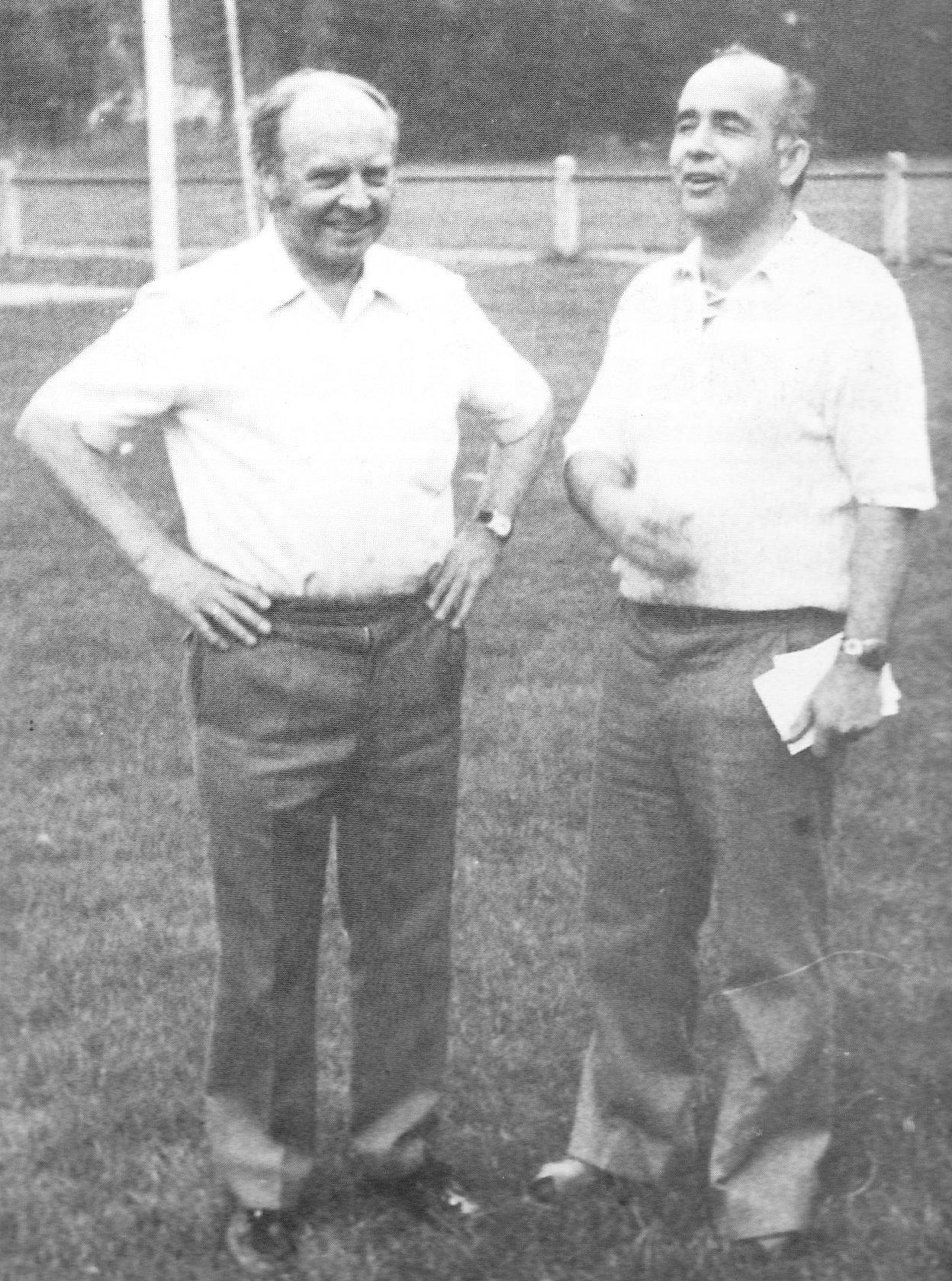 Väter der Fusion von Alemannia Heinsberg und Germania Lieck