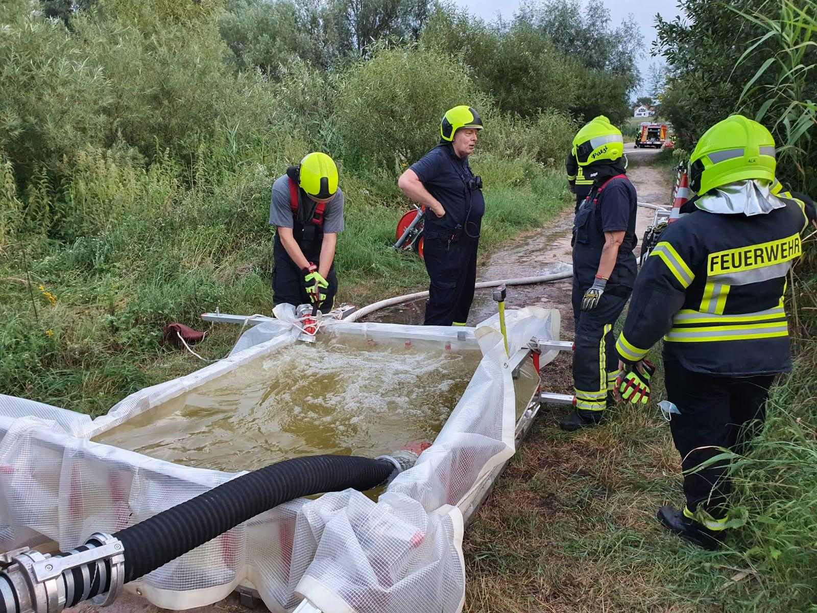2020-08-18 Übung Wegetationsbrand/Wasserförderung 2