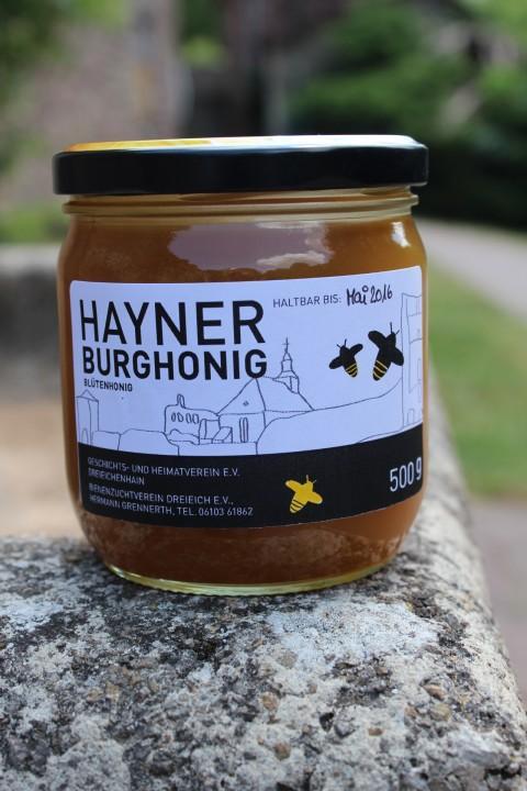 Honigverkauf im Hayner Burgmuseum