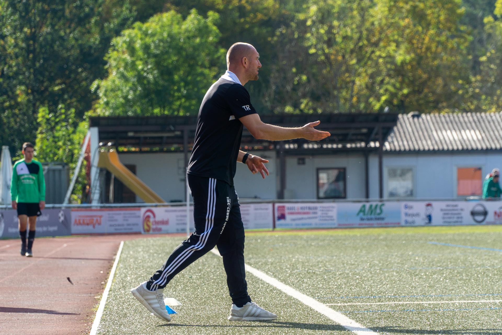 Im Einsatz: Trainer Thomas Recktenwald