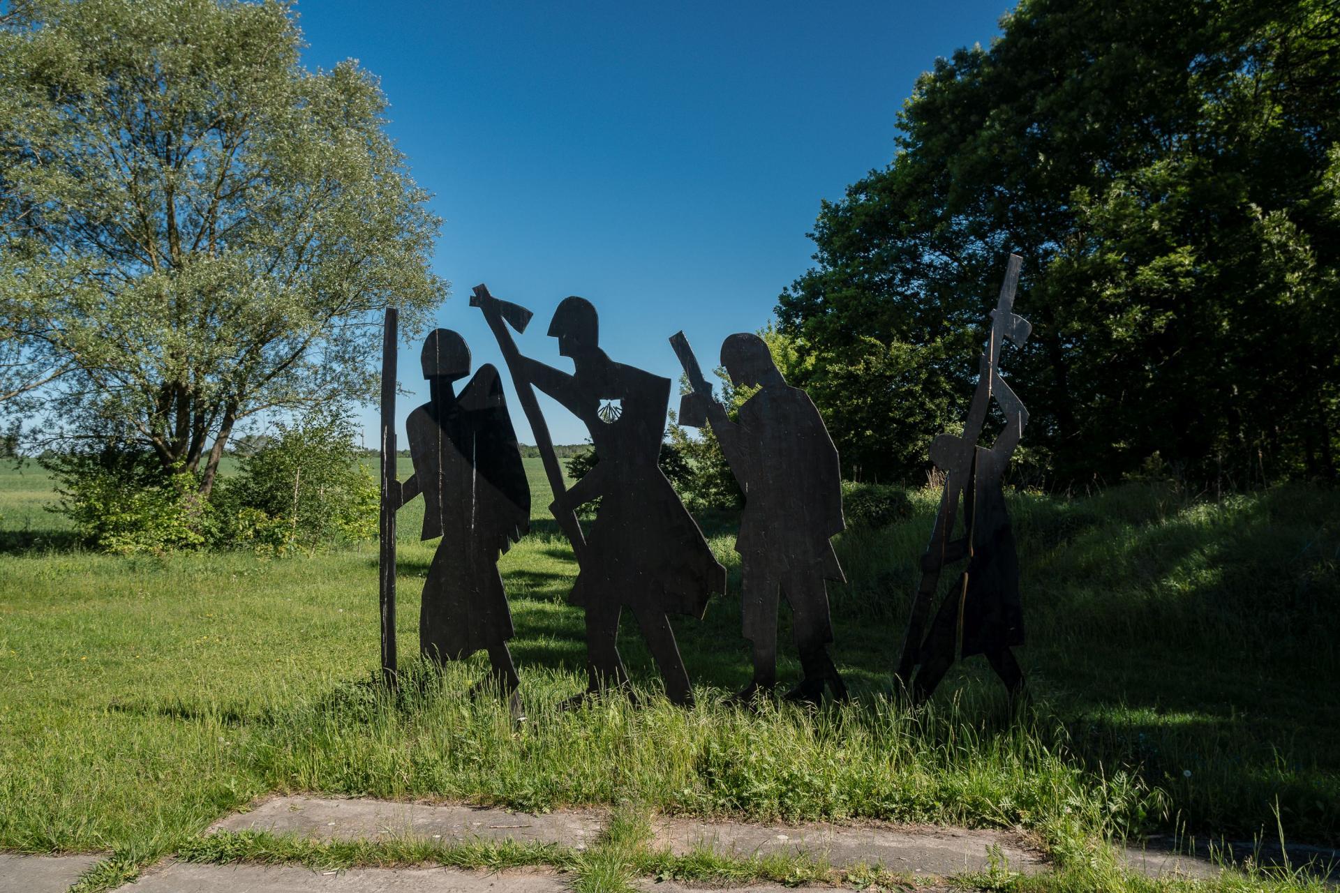 Pilgergruppe am Jakobsweg
