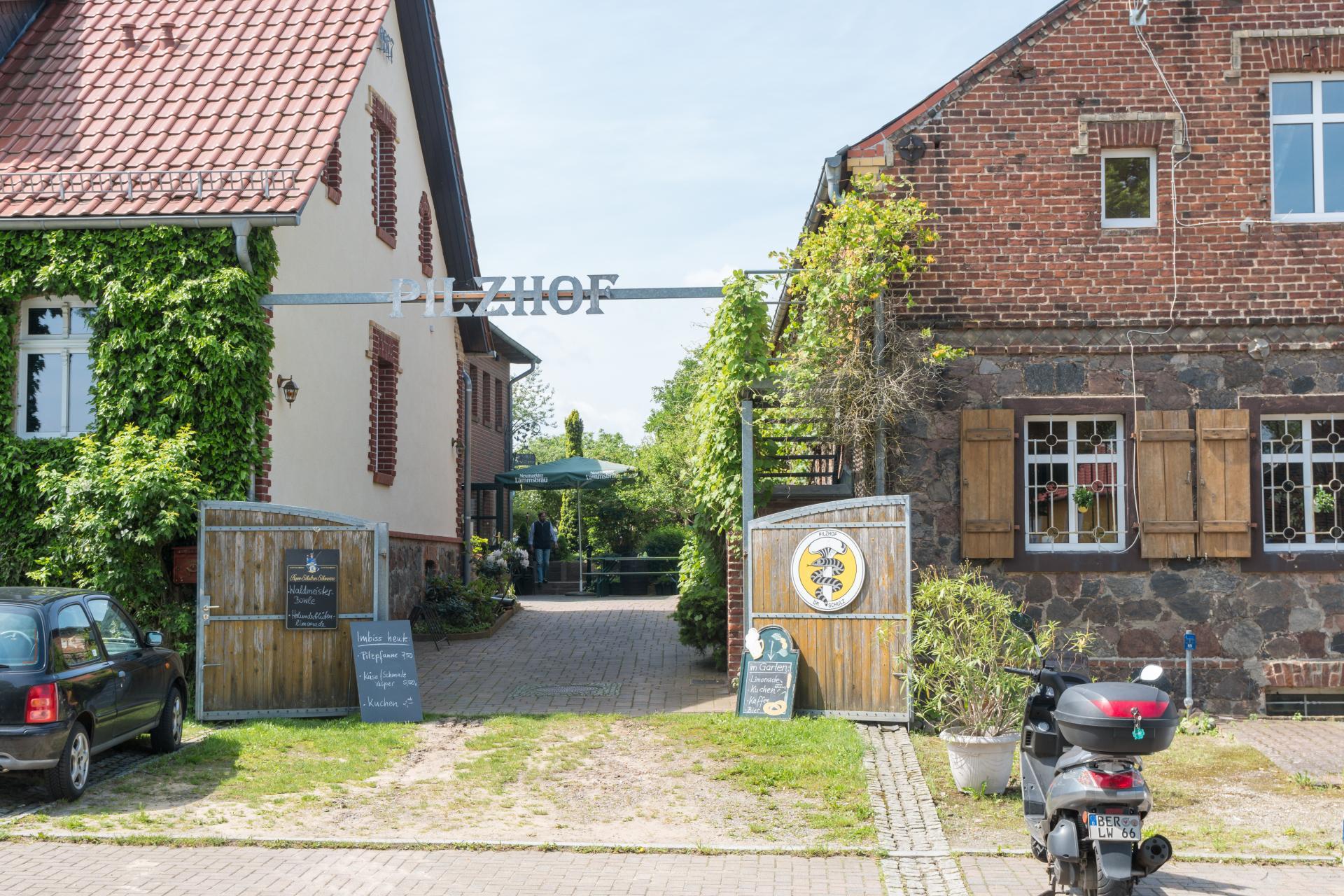 Pilzhof in Krummensee