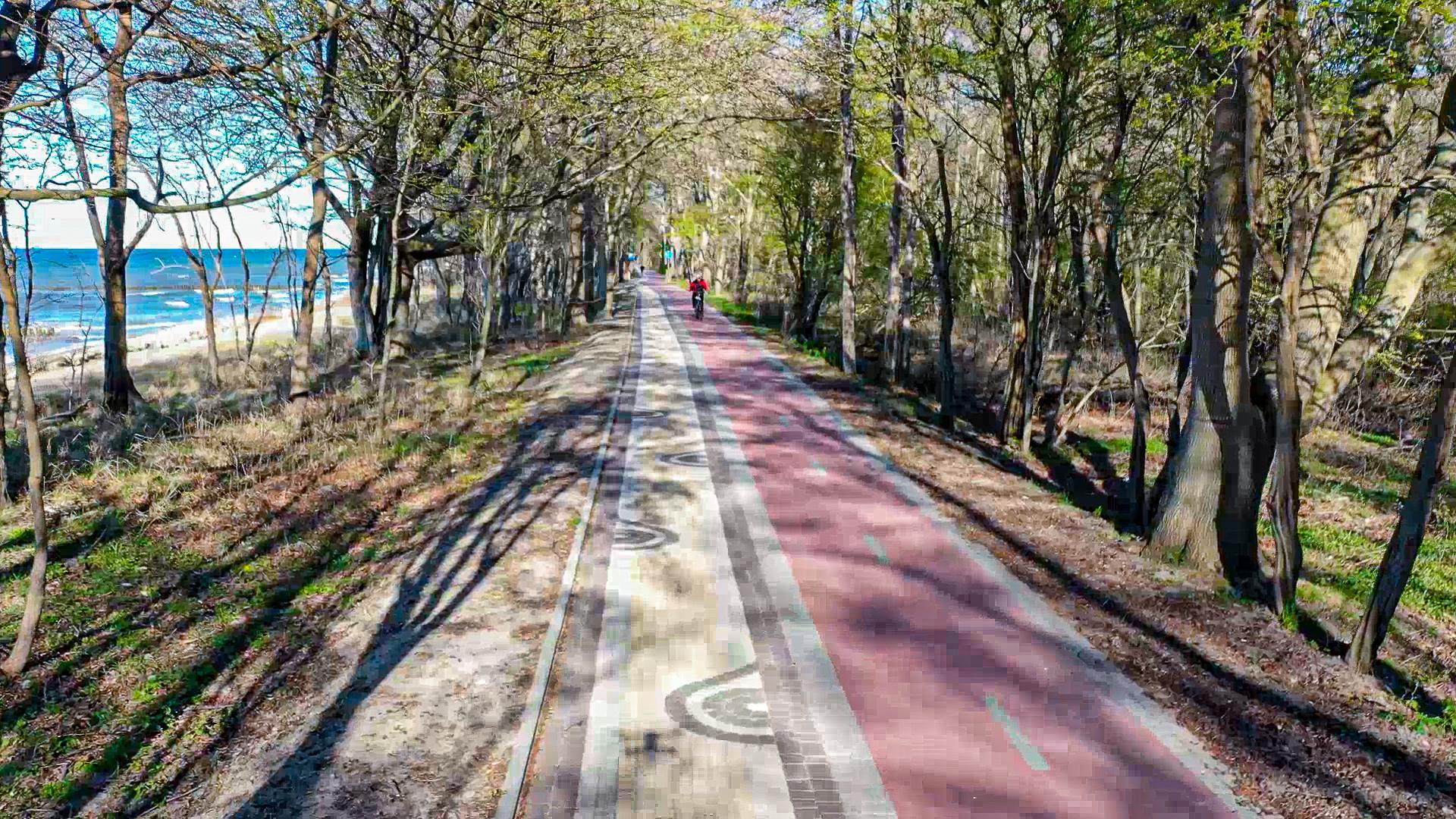 Ostseeküstenradweg in Polen