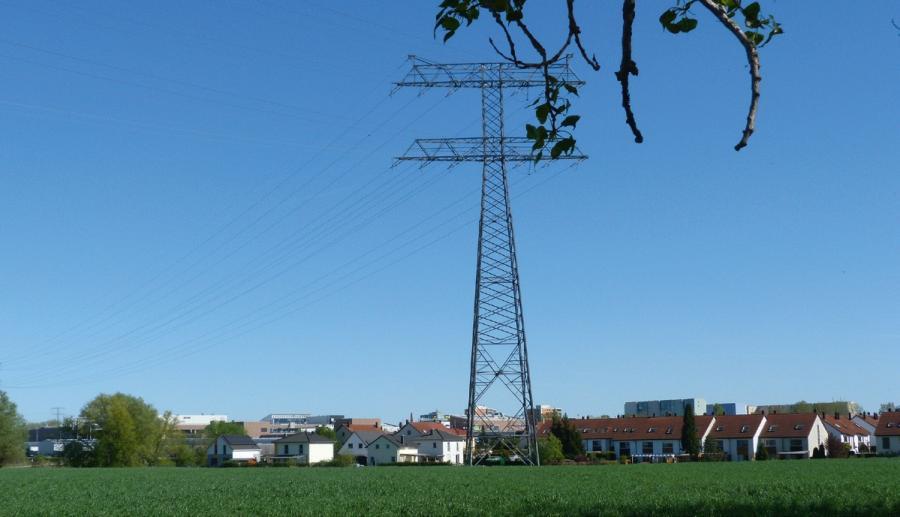 Siedlungsrand bei Ahrensfelde