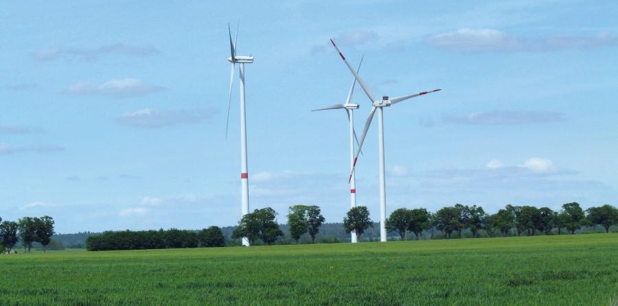Windräder in Willmersdorf bei Werneuchen