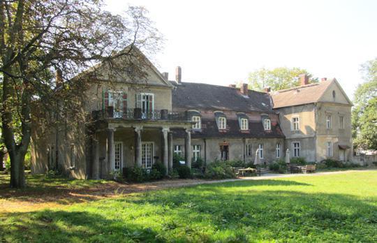 Das Guthaus Hirschfelde heute