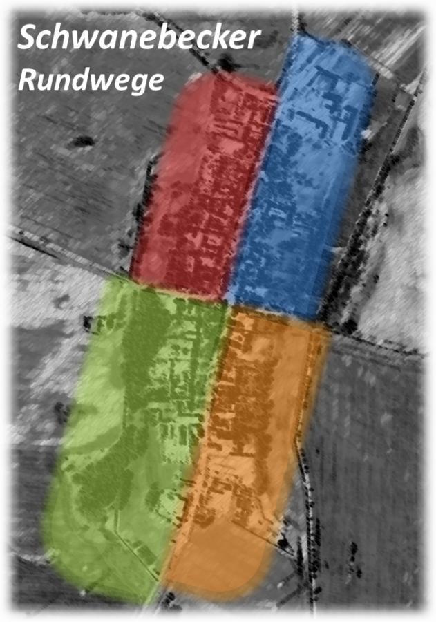Entwurf eines Logos für die Schwanebecker Rundwege