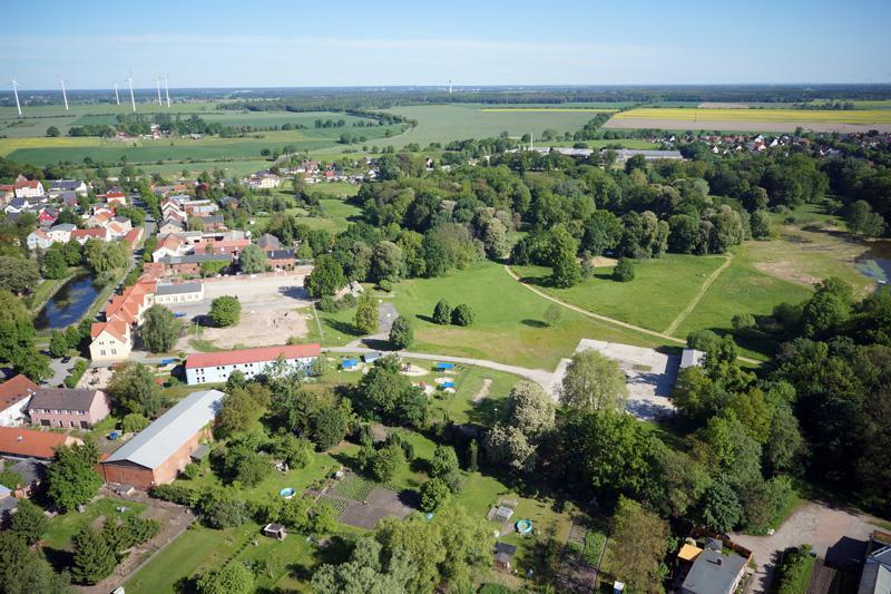 Blumberg (Ahrensfelde) Lenné-Park und Dorfanger