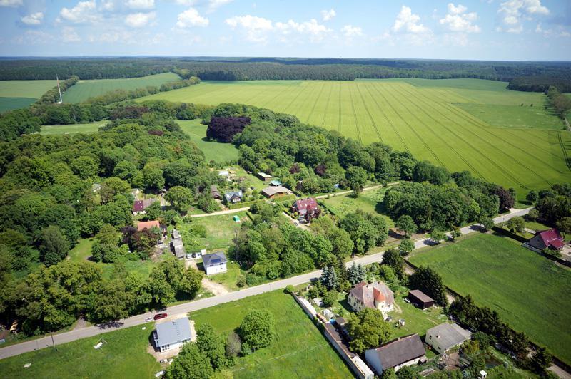 Krajobrazy parku w Hirschfelde (III)