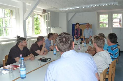 Project members' meeting in 2014