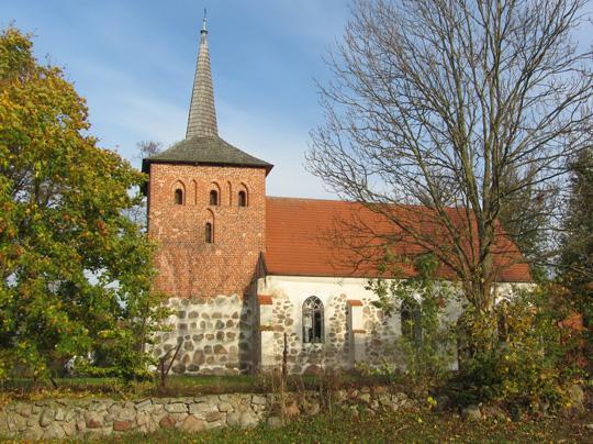 Die Kirche von Rusowo